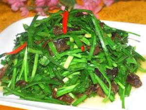 韭菜在春天吃有哪些好处