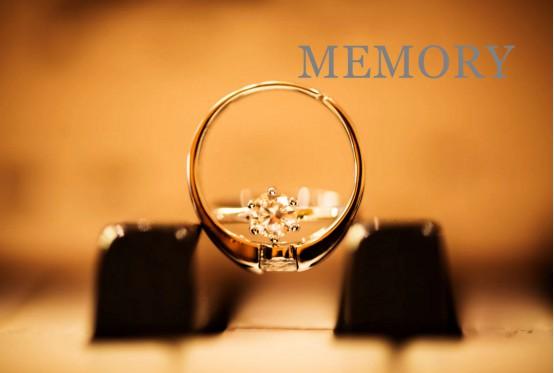 MEMORY珠宝定制首饰,钻戒爱情来见证