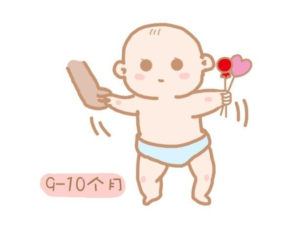 宝宝成长过程中每月龄段必须学会的动作,你家宝到达标准没