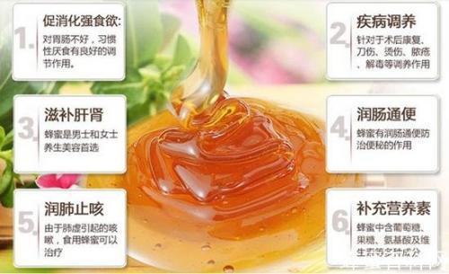 蜂蜜有什么功效和作用?喝蜂蜜水有什么好处