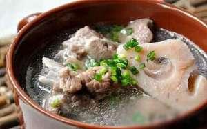 排骨莲藕汤的营养价值有哪些?