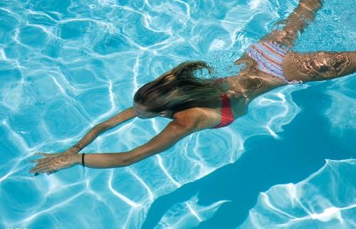 游泳减脂运动