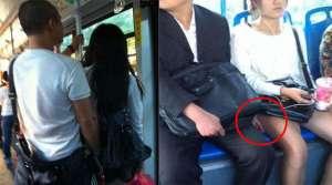 姑娘必学的自保公交车上的性骚扰方法